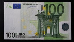 EURO . 100 Euro 2002 Duisenberg P001 X Germany - EURO