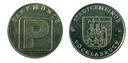 01588 GETTONE TOKEN JETON FICHA AUSTRIA PARCHEGGIO PARKING PARKMUNZE VOCKLABRUCK - Tokens & Medals