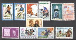Dominica 11 Stamps ** Assorted - To Be Checked - 11 Diverse Zegels Na Te Kijken - - Dominica (1978-...)