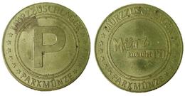 01599b GETTONE TOKEN JETON FICHA AUSTRIA PARCHEGGIO PARKING PARKMUNZE MURZZUSCHLAGER - Tokens & Medals