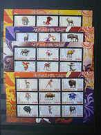 Disney. Animals # 2011 MNH 4x S/s # 1873 - Disney