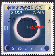 FRANCE  1999 -  Y&T  3261  -  Eclipse Soleil -  Oblitéré - Used Stamps