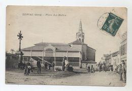 32 - LUPIAC - Place Des Halles - Petit Plan De La Malle-poste ?- - Sonstige Gemeinden