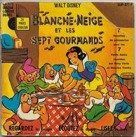 Rosy Varte 45t. EP *blanche-neige Et Les 7 Gourmands* - Children