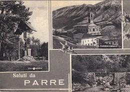 CARTOLINA - POSTCARD - BERGAMO - SALUTI DA PARRE - Bergamo
