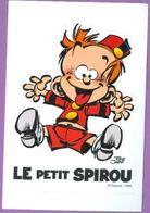 Autocollant : Le Petit SPIROU - Dupuis 1999 - Tome Janry - 10 X 15 Cm - Stickers