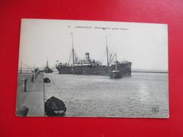 CPA 59 DUNKERQUE RENTREE D'UN GRAND VAPEUR - Dunkerque
