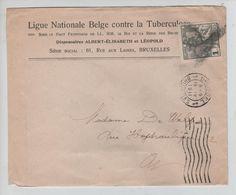 TP 84 Caritas S/L.Ligue Belge Tuberculose C.méc.BXL 15/5:1911 Annulation De Fortune V.E/V 1598 - 1910-1911 Caritas