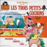 Jacques Duby 45t. EP *les Trois Petits Cochons* - Children