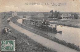 Dommarien Chassigny Péniche Transport Bois Canton Prauthoy - France
