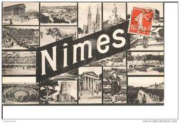 NIMES MULTIVUE CPA BON ETAT - Nîmes