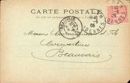 CPA Publicitaire - Maurice Jeanteur - Aux Galeries Sedanaises - Sedan - 1905 - Sedan