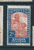 N°  61 LAITIERE PEULH AU MARCHE   Timbre Soudan Français (1931) Neuf   Pli (offert) Avec Achat - Soudan (1954-...)