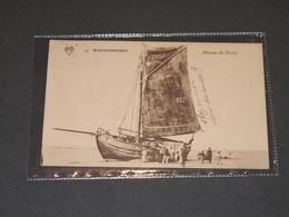 BLANKENBERGHE - BATEAU DE PECHE ECHOU2 - POSTEE 1911 - ED A.S. - Blankenberge