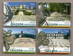 Portugal Stamps - Portuguese Sidewalk - Used - 1910-... Republiek