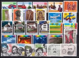 1601-1632 Schweiz-Jahrgang 1997 Komplett, Postfrisch ** - Zwitserland