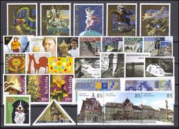 1994-2042 Schweiz-Jahrgang 2007 Komplett, Postfrisch - Zwitserland