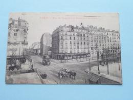 Rue De VAUGURARD Et Boulevard LEFEBVRE ( E Blanc ) Anno 1920 ( Zie Foto Details ) ! - Arrondissement: 15