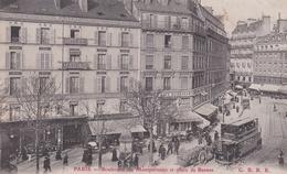 CPA  De  PARIS  (75)  -  Boulevard Du Montparnasse Et Place De Rennes     //   TBE - Other