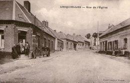 (58) CPA  Lesquielles  Rue De L'eglise  (bon Etat) - Autres Communes