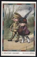 Enfant Petit Couple Par Illustrateur FRED SPURGIN Steadfast Series ( Très Très Bon état) Y Ti 693) - War 1914-18