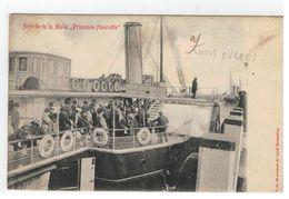 "Ostende  Arrivée De La Malle ""Princesse Henriette"" - Oostende"