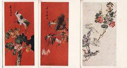 China Set Of 3 Postcards.Chinese Art - China