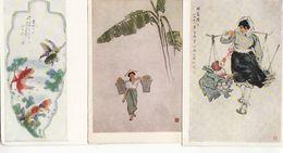 China Set Of 6 Postcards.Chinese Art - China