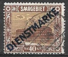 1922 40c Official, Used - Used Stamps
