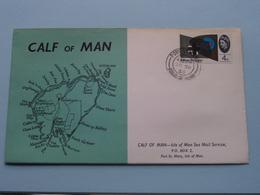 CALF Of MAN - ISLE Of MAN Sea Mail Service ( FDC ) EUROPA - 1965 ( See Photo's ) ! - Man (Ile De)