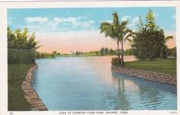 Cuba Havana Lake At Country Club Park Curteich - Cuba