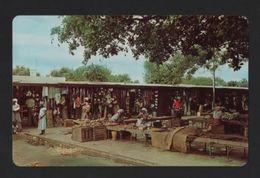 PC MOÇAMBIQUE 60s LOURENÇO MARQUES XIPAMANINE STREET NATIVE MARKET MOZAMBIQUE - Mozambique
