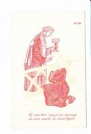 Carte érotique à Système, A REGARDER AVEC UN FILTRE ROSE, Femme Nue, Oh! Mon Père Que Je Suis...Ed. TAV 1910 Environ - A Systèmes