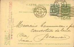 CPA Publicitaire - Constant Van Caudenberg Rue Heyvaert Bruxelles (Belgique) - 1905 - Belgique