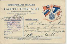 AK Frz. Gefangenenpost Nach Lager Kassel - Weltkrieg 1914-18