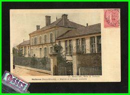 MELLERAN (Deux Sèvres) Mairie Et Groupe Scolaire (recto Verso) - France