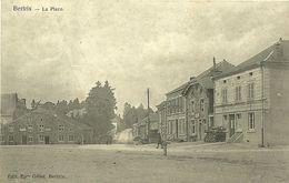 Bertrix  La Place 1907 Assez Rare De Bertrix Vers Limes Gérouville - Bertrix