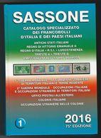 Catalogo SASSONE ITALIA 2016 - Volume 1 - USATO (prezzi Segnati), Ma In Buono Stato - - Italia