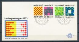 Nederland/Netherlands/Pays Bas/Niederlande 1973 Mi: FDC 1019-1022 Nvph: E129 (Ongebr/MH/Ungebr/*)(3225) - FDC