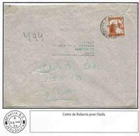 Palestine Palastina Lettre Cover Carta Belege Jerusalem Rehavia B.O. 1939 Haifa - Palestina