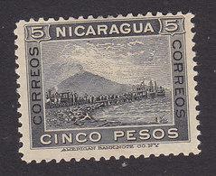 Nicaragua, Scott #133, Mint No Gum, Mt. Momotombo, Issued 1900 - Nicaragua