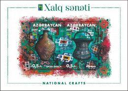 National Crafts . 2017. MNH. Azerbaijan Azerbaïdjan Aserbaidschan. - Azerbaïjan