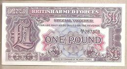 Forze Armate Britanniche - Banconota Non Circolata Da 1 Sterlina 2° Emissione P-M22a -1948 - Military Issues