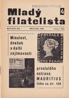 REVUE PHILATELIQUE TCHECOSLOVAQUE - Books, Magazines, Comics