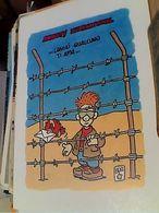 AMNESTY INTERNATIONAL ILLUSTRATA BRUNO D'ALFONSO N1990 GN21590 - Prigione E Prigionieri
