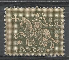 Portugal 1953. Scott #771 (U) Equestrian Seal Of King Diniz - 1910-... République