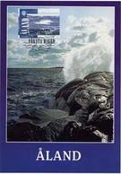1998 Pirvate Maximum Card, Year Of Ocean. - Aland