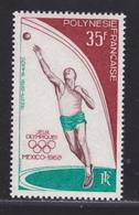 POLYNESIE AERIENS N°   26 ** MNH Neuf Sans Charnière, TB (D4968) Jeux Olympiques De Mexico - Airmail