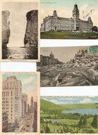 LOT DE 500 CARTES POSTALES CANADA (1900/1980) / .LOT OF 500 POSTCARDS CANADA (1900/1980). - Postcards