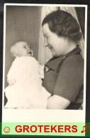 HKH Prinses Juliana Met HKH Prinses Beatrix Op De Arm Verzonden 1938 Naar Hongarije - Other